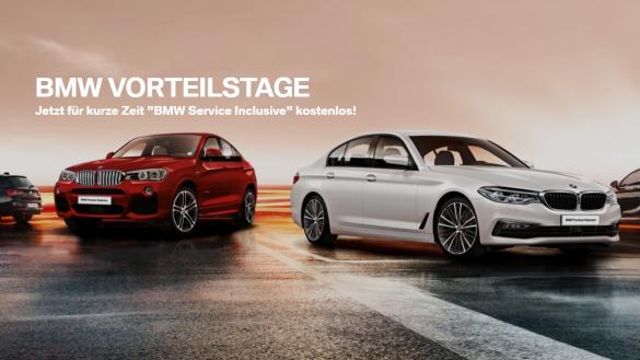 BMW Reichhart Vorteilstage