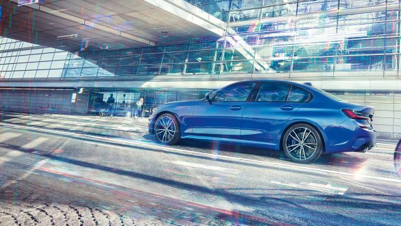 BMW 3er Limousine von rechts