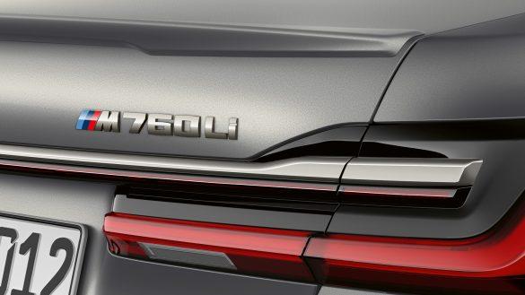 BMW M760Li xDrive Limousine, Schriftzug M760Li
