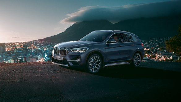 BMW X1 Doppelniere und Stoßfänger