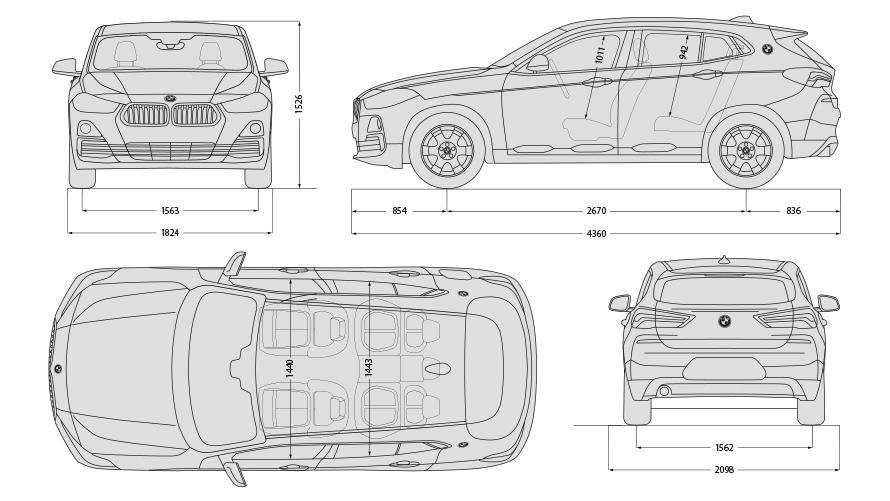 Technische Daten BMW X2 M35i