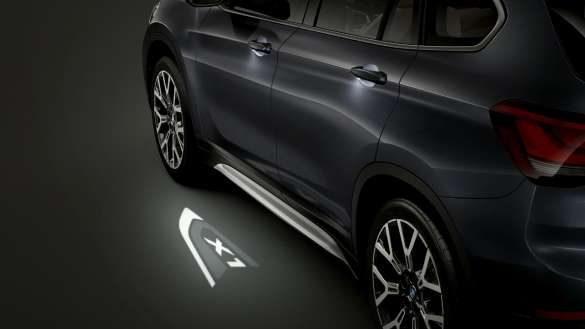 BMW X1 LED Projektion