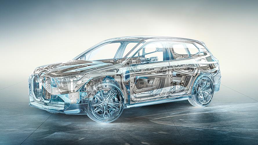 Technische Daten BMW iX