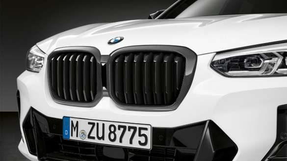 BMW X3 G01 M Performance Frontziergitter Carbon 2021