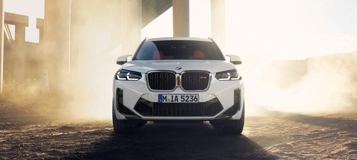 BMW X3 M F97 LCI Facelift 2021 Alpinweiß Frontansicht
